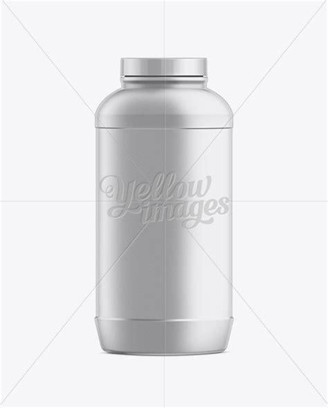 Jar Plastik 1000 Ml big plastic jar with lid 1000ml in jar mockups on yellow