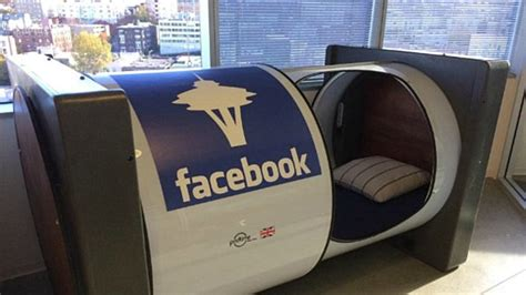 google sleep pods nap pod in the seattle offices of facebook decoist