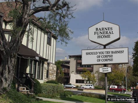 barnes funeral home some of sign