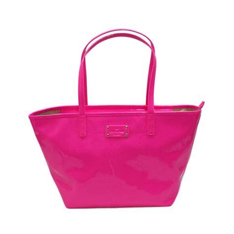 Kate Spade Pink kate spade small harmony pink sapphire metro spade tote wkru1878 kate spade wkru1878
