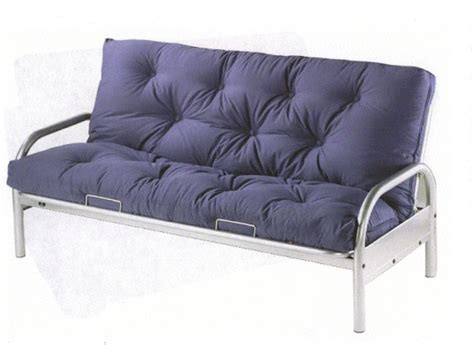metal futon with mattress metal futon sofa bed