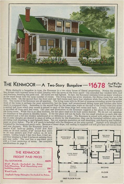 1931 kit home aladdin bungalow the carlton 17 best images about kit homes on pinterest house plans