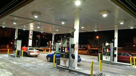 under awning lighting canopylight gas pump led canopy lights