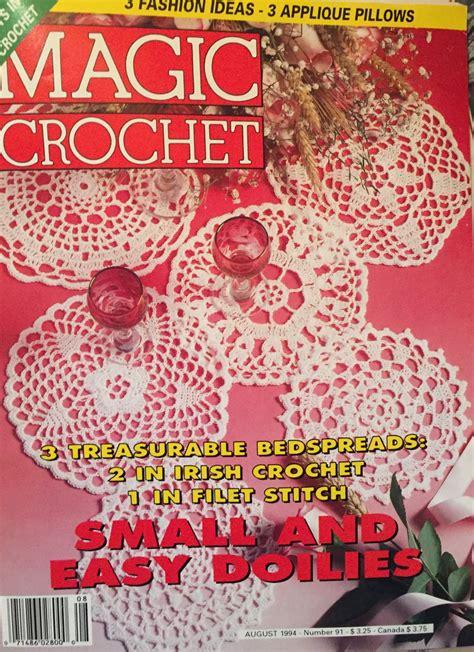 pattern magic crater magic crochet pattern magazine number 91 august 1994