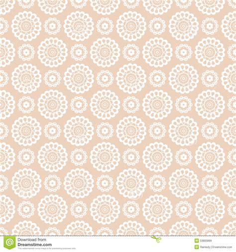 seamless lace pattern vector vector seamless pattern with lace elements stock vector