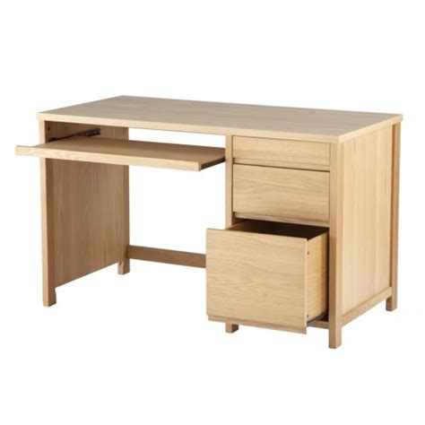 Oak Office Desks Uk Oak Veneer Desk Home Office Furniture Uk