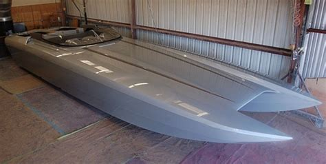 trimaran argo hull and deck complete for 41 foot dcb cat boats
