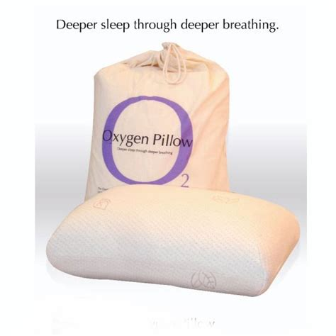 Oxygen Pillow by Oxygen Pillows Personalized For Sleep
