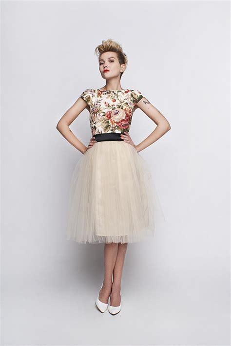 Standesamt Kleid by Standesamt Kleid Beige Creme Mit Rosenmuster Kleiderfreuden