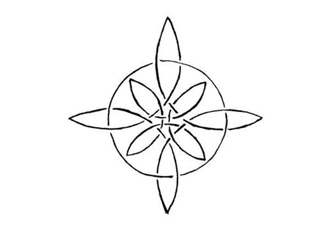 celtic compass rose tattoo compass knot by altocello on deviantart tattoos