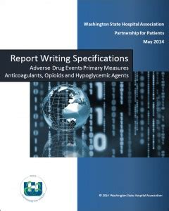 writing effective content project specifications books medication safety washington state hospital association