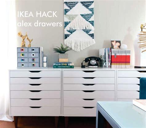 ikea organization hacks best 25 ikea alex drawers ideas on pinterest