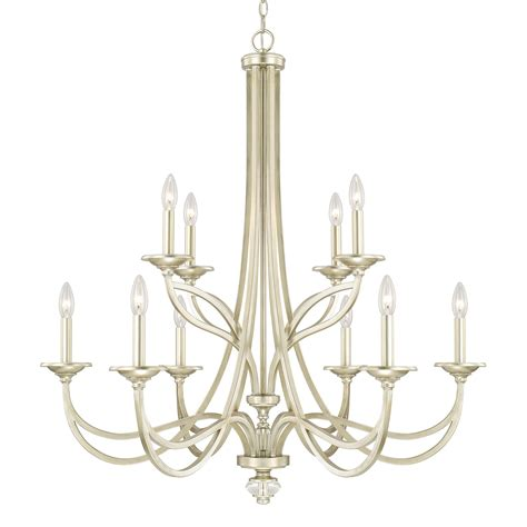 Capital Lighting Chandelier Capital Lighting 413801sf 10 Light Chandelier In Soft Gold Homeclick