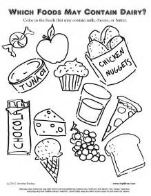 food allergy coloring pages for kids looking for free diet tips you ve come diet