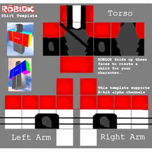roblox uniform template red roblox