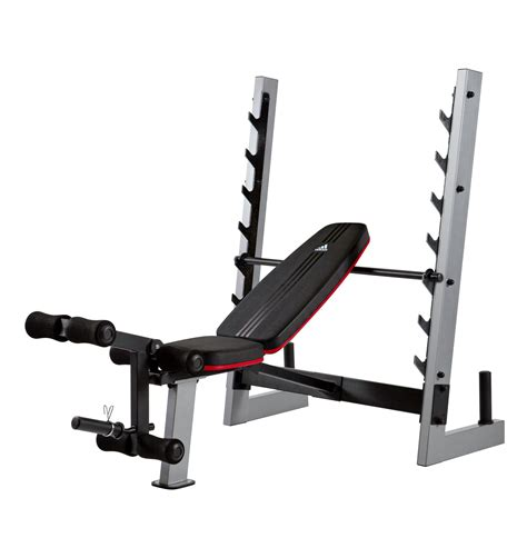 amazon com adidas olympic weight bench standard weight