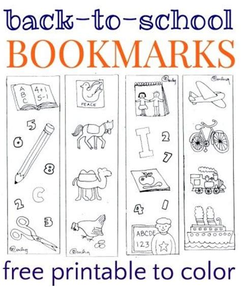 printable school bookmarks 301 moved permanently