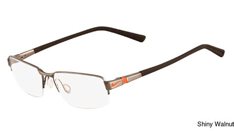 buy nike 6051 semi rimless half frame prescription