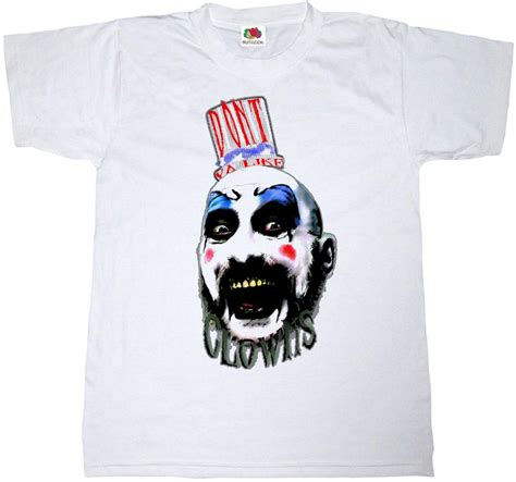 The Devils Rejects 2 Sides Tshirt Size M 1 2017 brand t shirt fashion harajuku homme captain spaulding clown 100 cotton t shirt devils