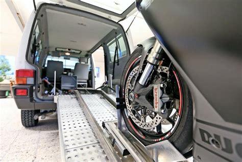 Motorrad Transport Vorrichtung by Wolfsburg Motorrad Schnell Und Sicher Transportieren