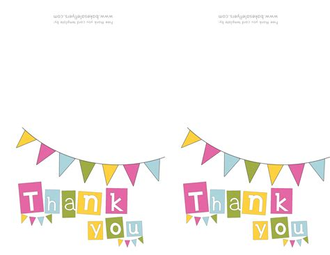 free printable thank you card template thank you card popular images blank thank you card template 4 fold card template microsoft