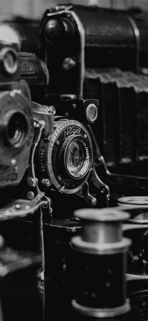 cameras dark classic iphone  wallpaper