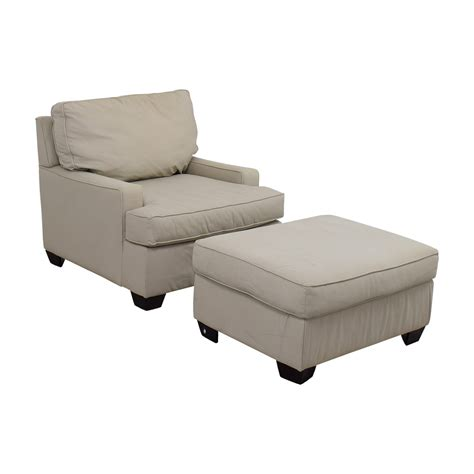 Sofa Chair And Ottoman 90 Pottery Barn Pottery Barn Buckwheat Sofa Chair And Ottoman Chairs