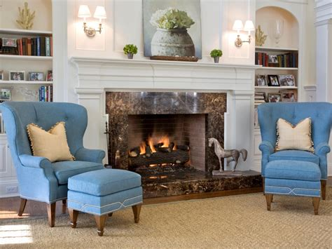 blue living room chairs photo page hgtv