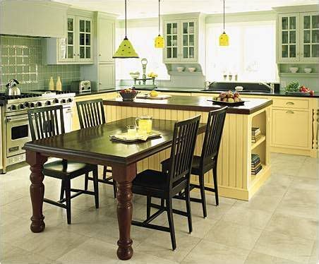 kitchen table island ideas best 25 kitchen island and table combo ideas on pinterest