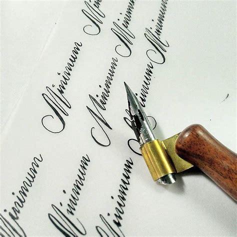 %name calligraphy wedding invitations   Easy DIY Calligraphy for Your Wedding Invitations   Miss Bizi Bee