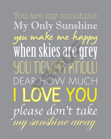 you are my sunshine printable lyrics artwork chalkboard best 25 sunshine printable ideas on pinterest free