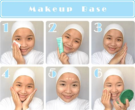 tutorial makeup natural muslimah wardah tutorial makeup natural wardah life style by modernstork com