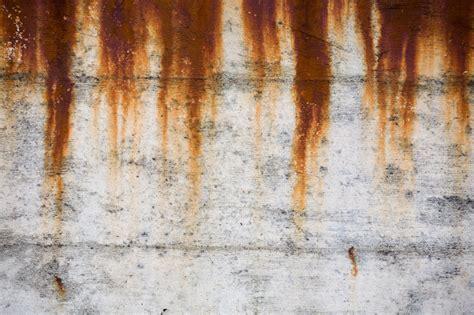 rostflecken entfernen  befreien sie beton von rost