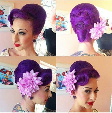 everyday rockabilly hairstyles hair by miss rockabilly ruby curls rolls and hives