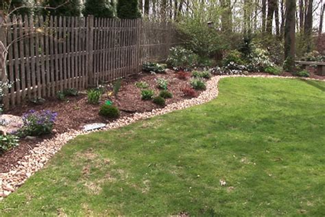 backyard border landscaping ideas landscape edging ideas tufudy