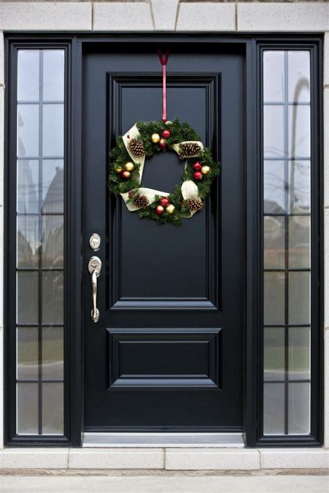 glass outside doors 25 best black front doors ideas on black