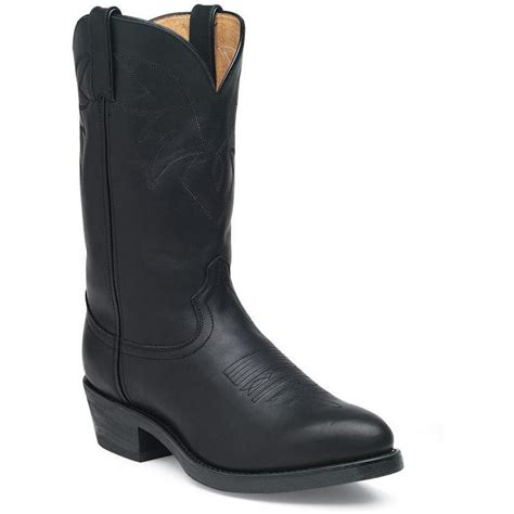 Black Master Boot Rossel Black durango s black leather comfort western boots