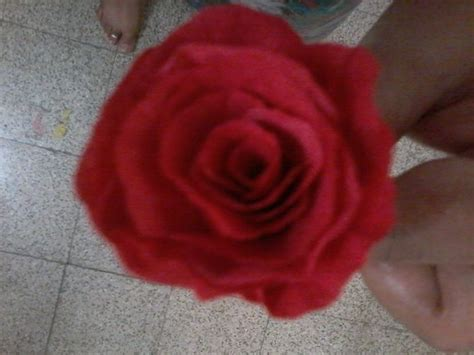 Make Roses Out Of Tissue Paper - 3 ways to make tissue paper roses wikihow