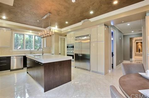 Gourmet Kitchen St Albans 9 69 Million Newly Built Inspired Mansion In San