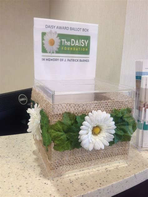 Nomination box   DAISY Best Practice and fun celebration