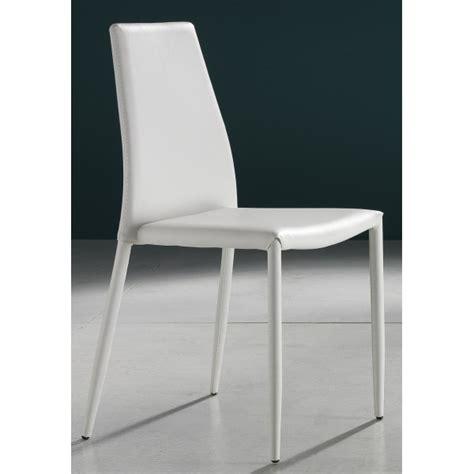 sedie moderne bianche tomasucci sedia eco pelle bianche alta qualita sedia