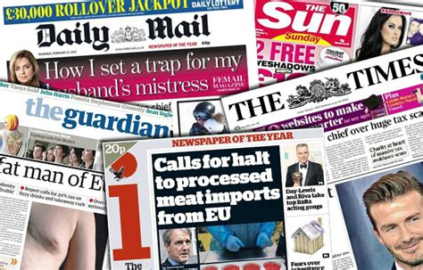 Todays News Brought To You From The National Enquirer by Negative Coverage Of The Eu In Uk Newspapers Nearly