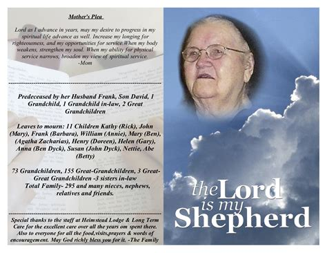 free template for obituary program obituaries template quotes