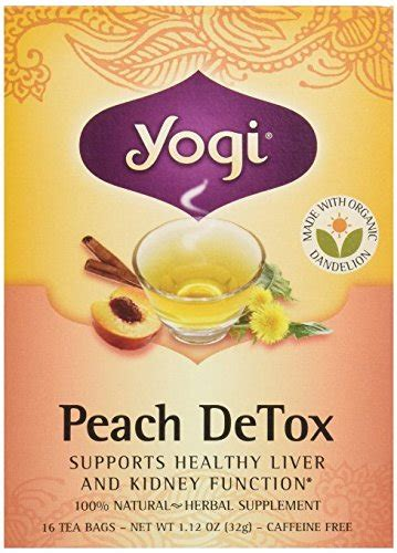 Best Drugstore Detox Tea by Yogi Detox Tea Review