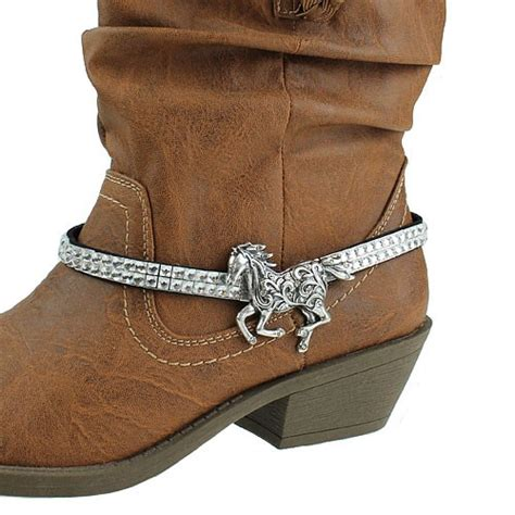 embeded charm western cowboy boot