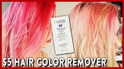 ion color remover removing semi permanent hair dye ion color remover