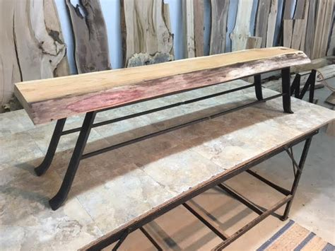 how to put legs on a bench hand forged steel bench table legs bench table base