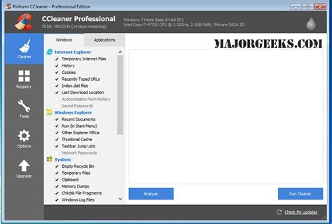 ccleaner geeks majorgeeks com majorgeeks