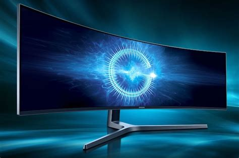 samsung releases 49 inch desktop monitor with 32 9 aspect ratio the register
