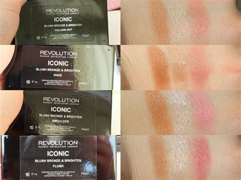 Palet Bedak Blushon Flush Makeup Profesional ร ว วพาเลท makeup revolution ป ดแก ม 3 in 1 ส ดค ม